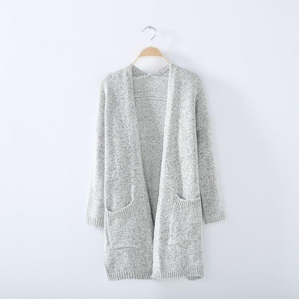 Zen - Loose Knit Cardigan Sweater