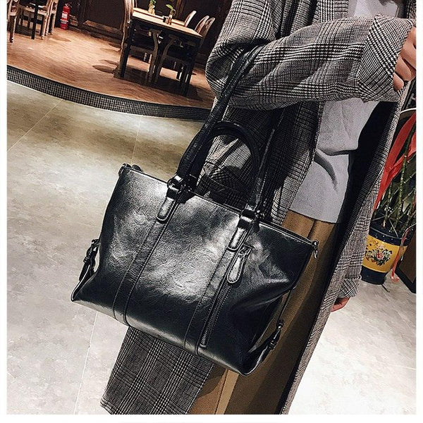 Retro Tote Shoulder Handbag
