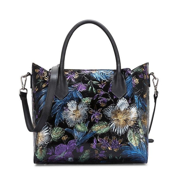Crossbody Flower Pattern Handbag