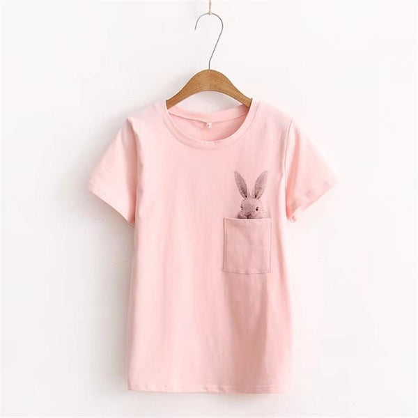 Bunny Pocket Tees