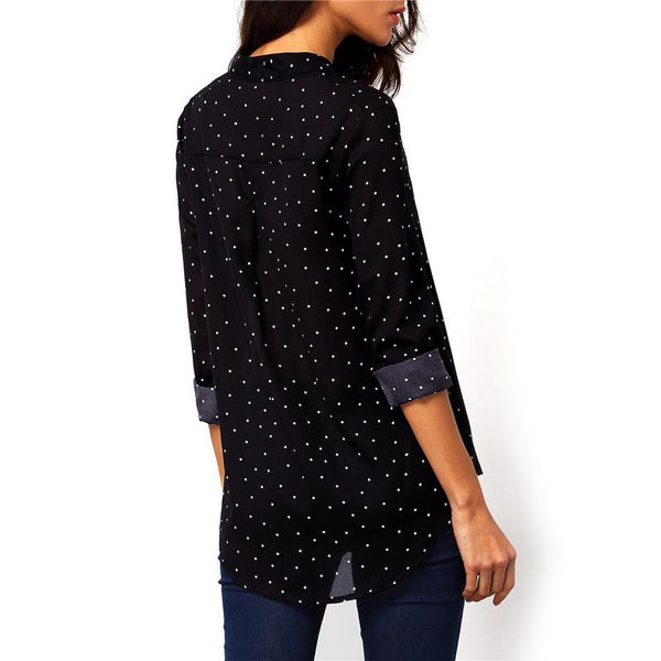 Felix - Button Up Longsleeve Blouses