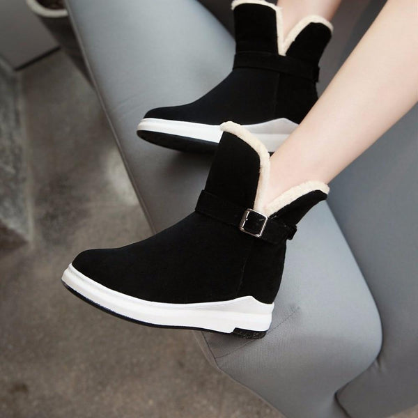 Annika - High Rise Ankle Boots