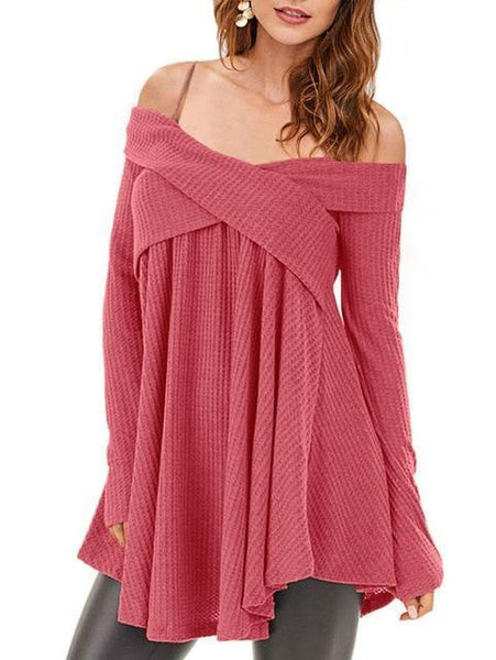 Skye - Off Shoulder Sweater