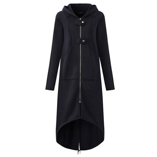 Cameron - Long Sleeve Oversize Zip Coat