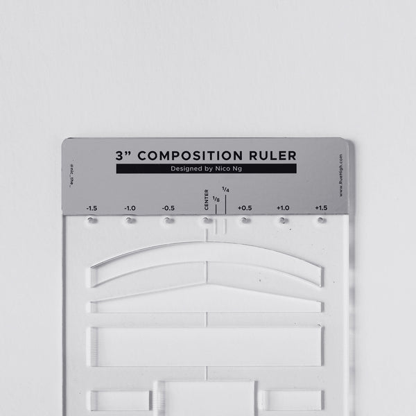 "3"" Composition Ruler by Nico Ng"