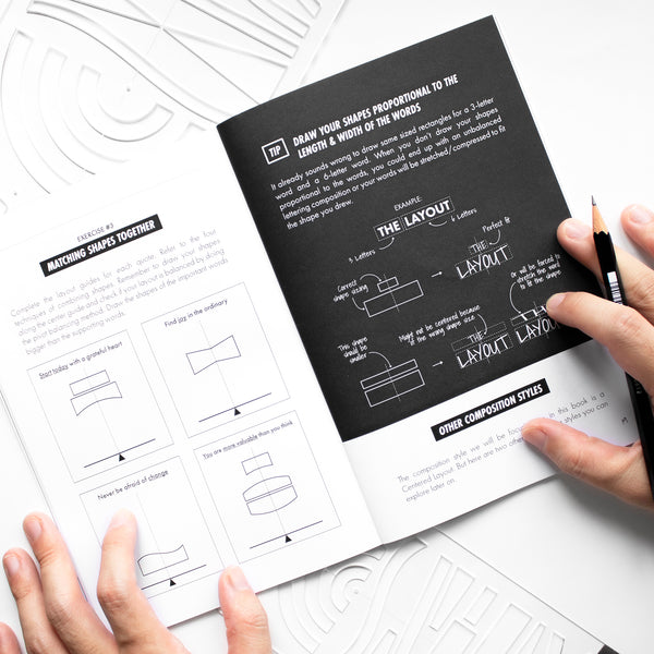 Lettering Composition Handbook by Nico Ng