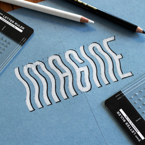 5mm Letter Ruler by Nico Ng