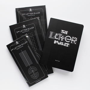 Letter Ruler Bundle (FREE Letter Booklet)
