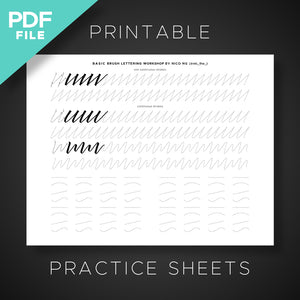 FREE PRINTABLE PRACTICE SHEETS