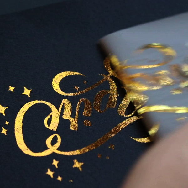 Gold Transfer Foil - 8in. x 4 ft.