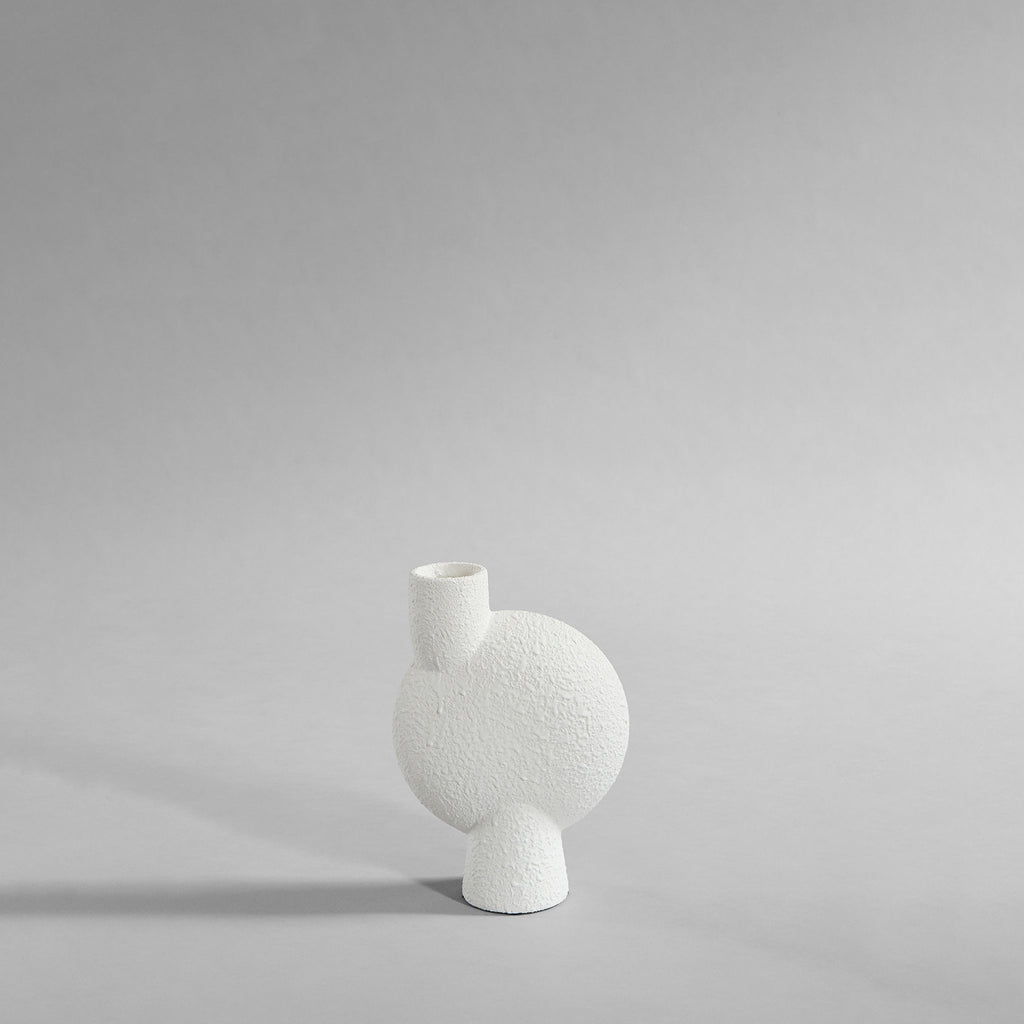 Sphere Vase Bubl, Medio - Bubble White - 101 CPH