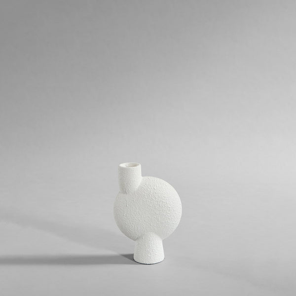 Sphere Vase Bubl, Medio - Bubble White