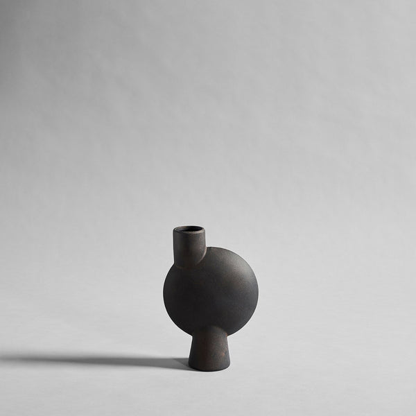 Sphere Vase Bubl, Medio - Coffee