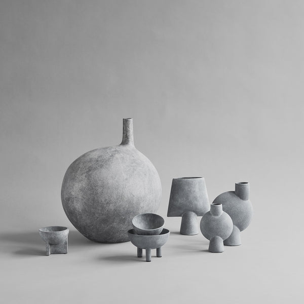 Sphere Vase Bubl, Mini - Light Grey