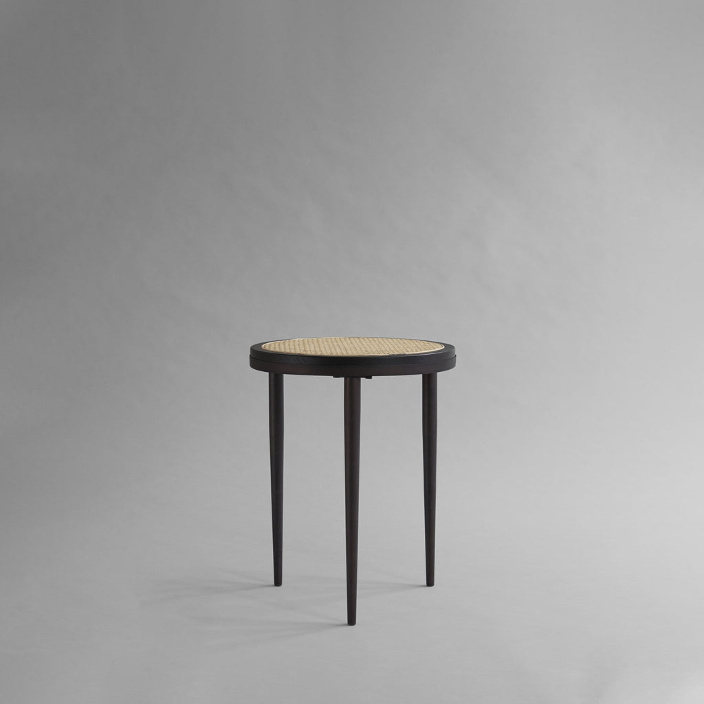 Hako Table, Tall - Burned Black - 101 CPH