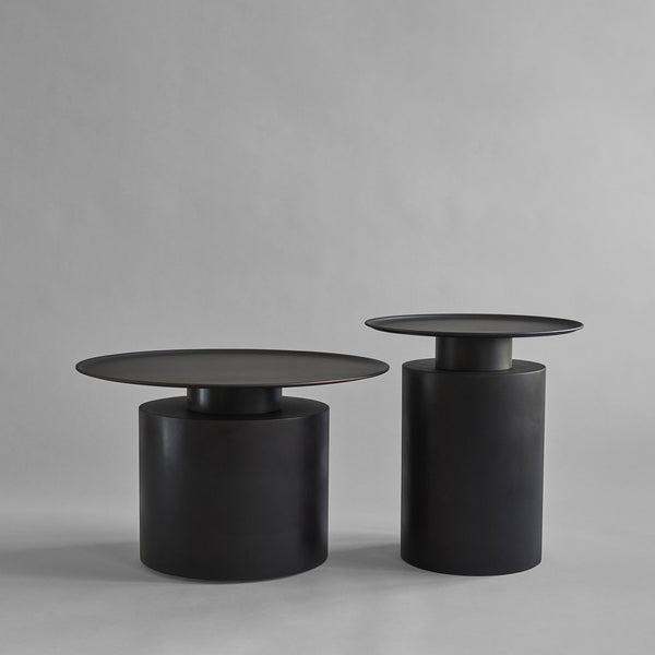 Pillar Table, Tall - Burned Black