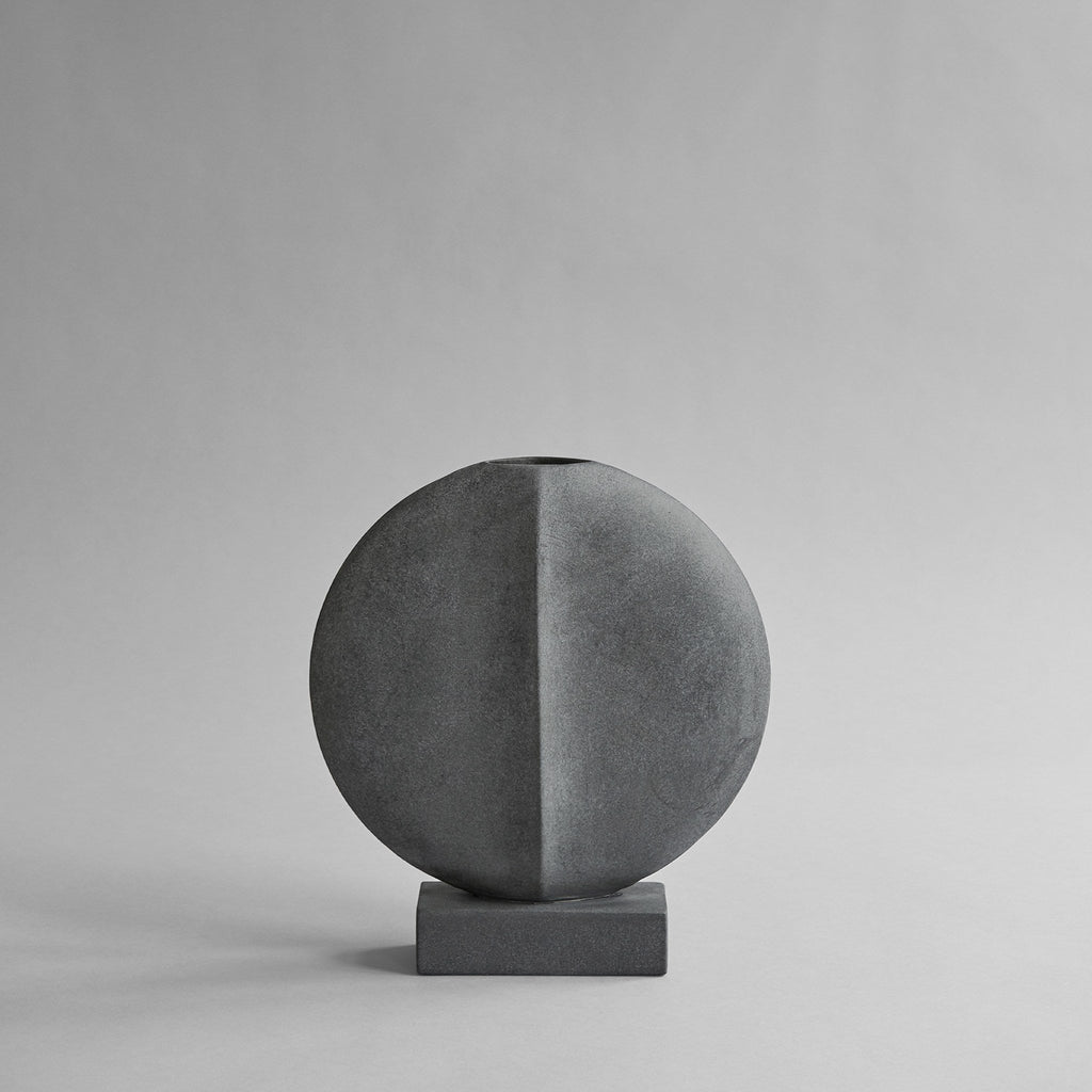 Guggenheim Vase, Mini - Dark Grey