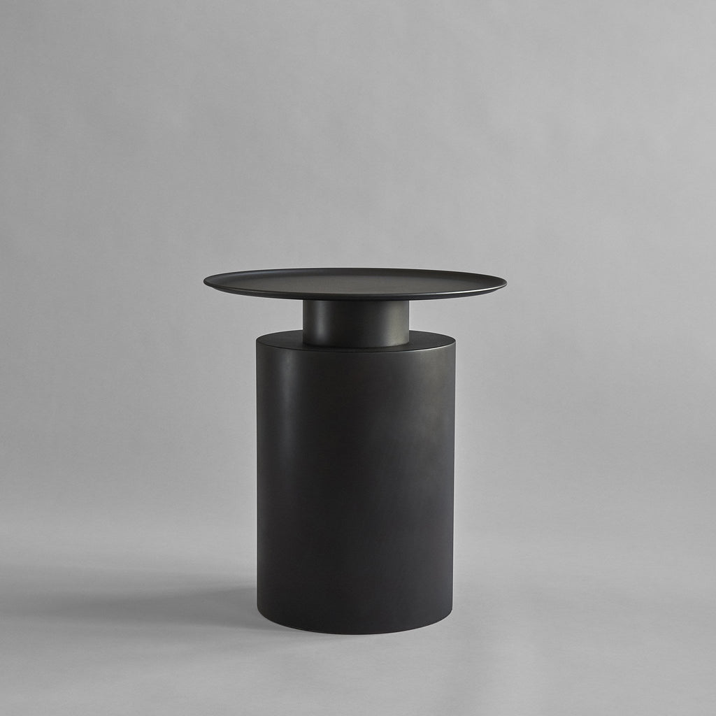 Pillar Table, Tall - Burned Black - 101 CPH