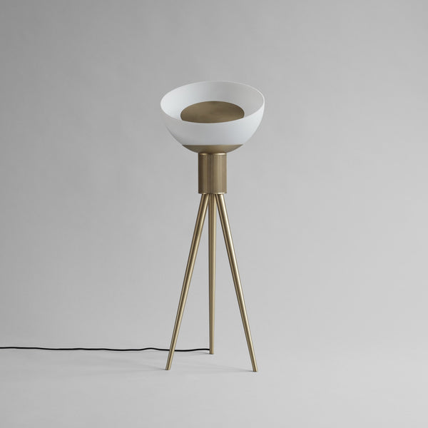 Moonraker Floor Lamp, Brass - 101 CPH