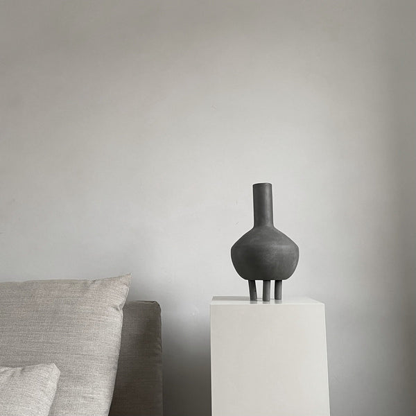 Duck Vase, Fat - Dark grey - 101 CPH
