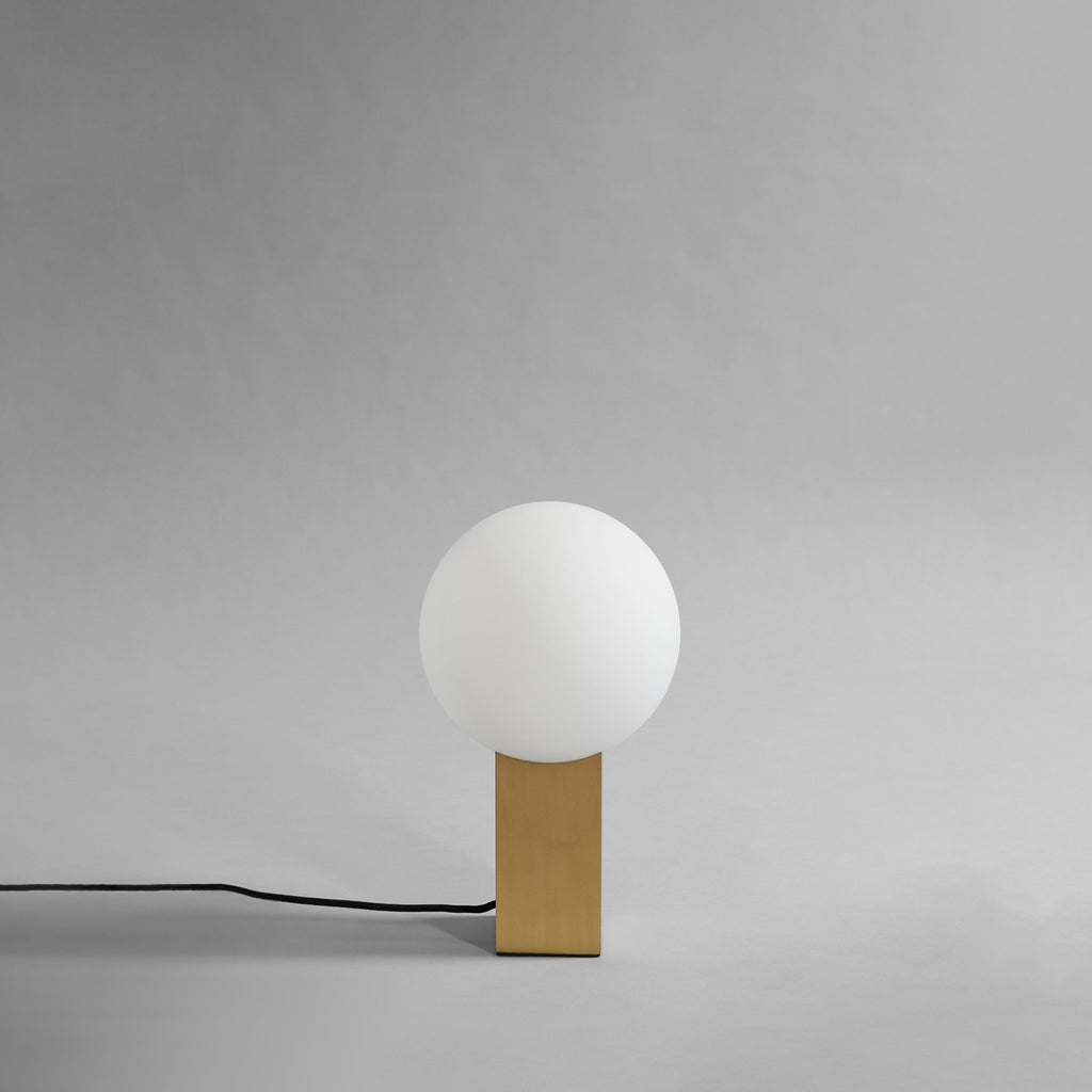 Hoop Table Lamp - Brass