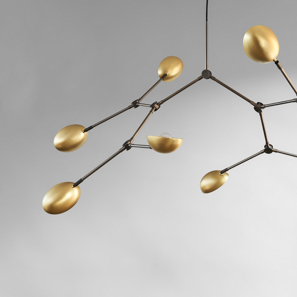 Drop Chandelier - Brass - 101 CPH