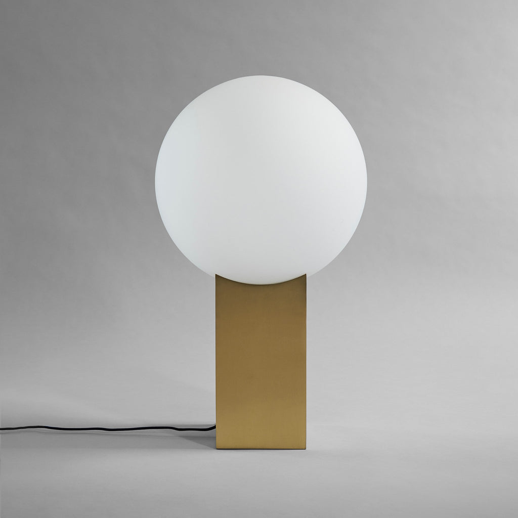 Hoop Floor Lamp - Brass - 101 CPH