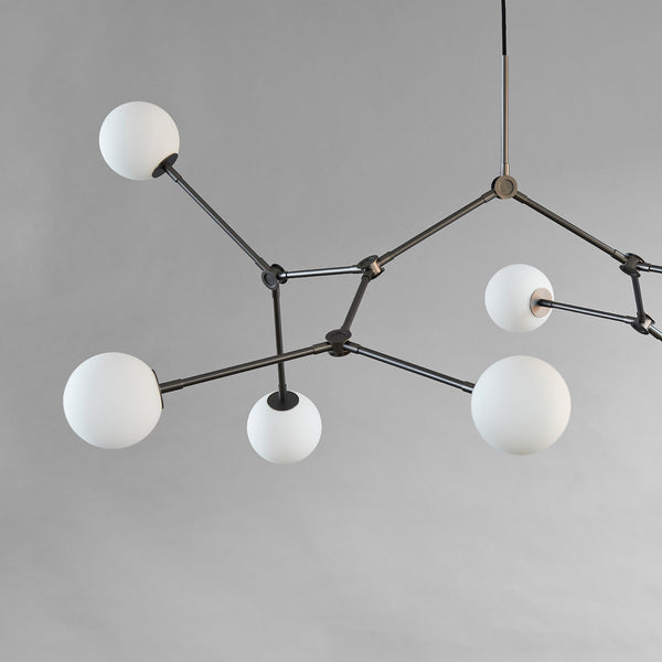 Drop Chandelier Bulp - Grey