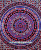 Myna Red Mandala Tapestry - EarthingsSA