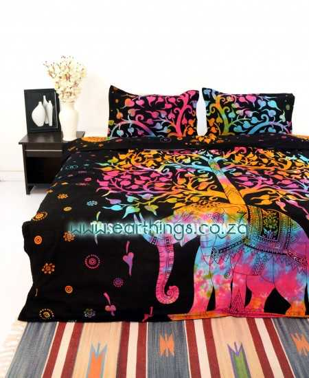 Tree Tie Dye Duvet Cover