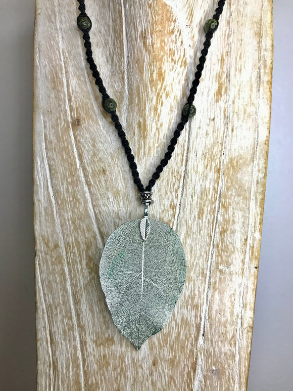 Leaf Necklace 4
