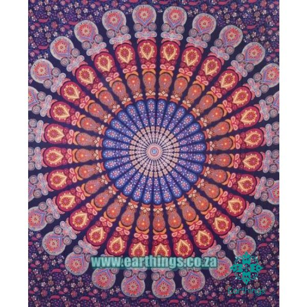 Bohemian Mandala Hippie Indian Tapestry Queen Size