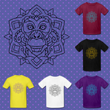 Monkey Animal Mandala