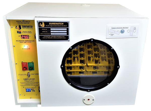 180 Egg Incubator and Hatcher - Fully Automatic Digital Model SH180 - Surehatch Incubators