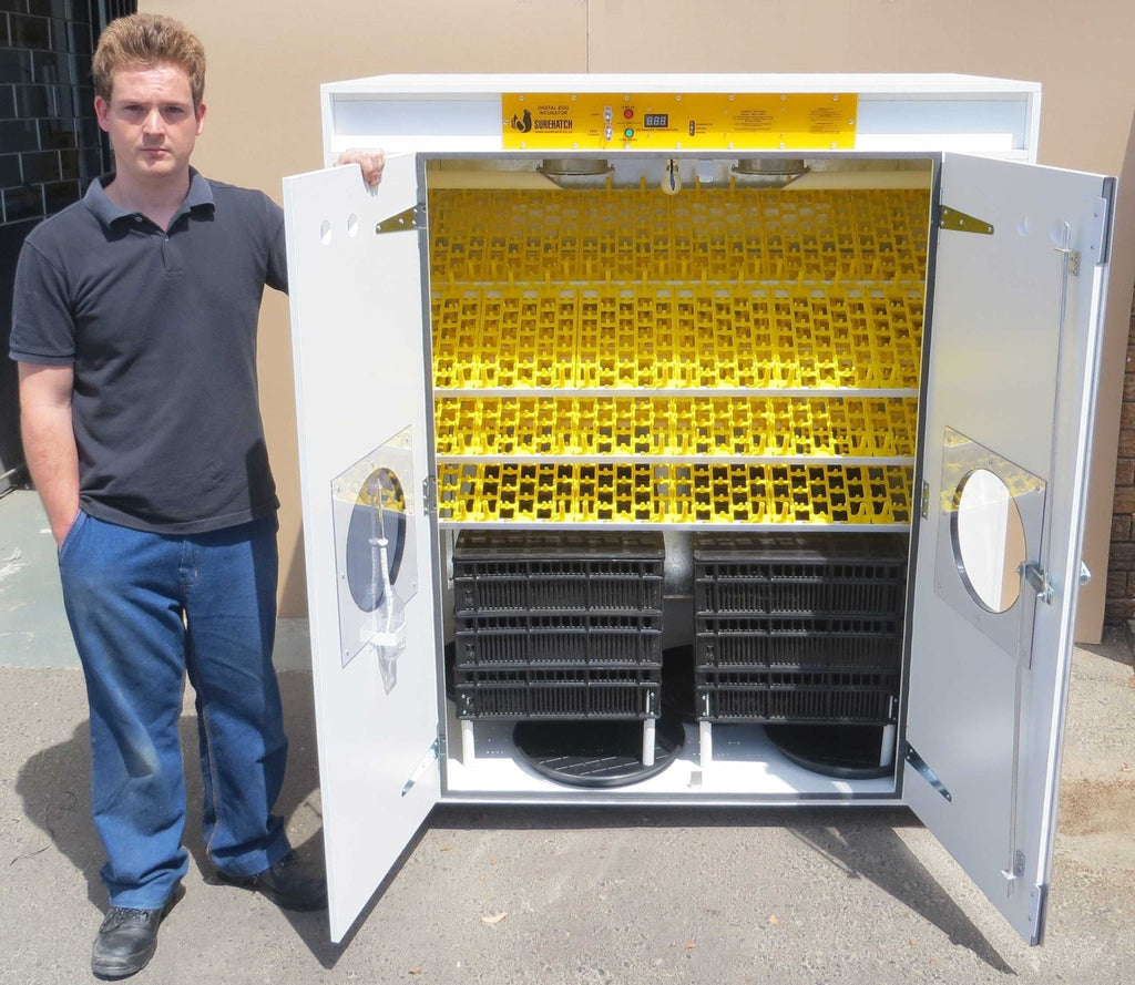 SH1700 Automatic Digital Egg Incubator and Hatcher for 1700 eggs