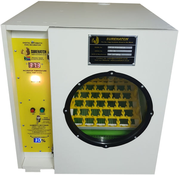 60 Egg Incubator and Hatcher - Fully Automatic Digital SH60 MiniHatch - Surehatch Incubators