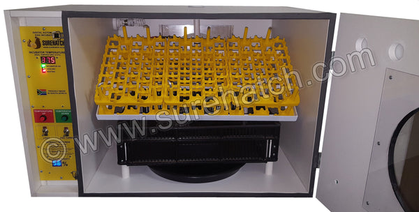 SH280 Automatic Digital Egg Incubator and Hatcher for 280 eggs - Surehatch Incubators
