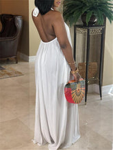 Load image into Gallery viewer, Halter Backless Maxi Dress--2XL