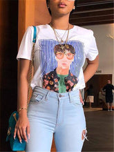 Load image into Gallery viewer, Portrait Print T-Shirt