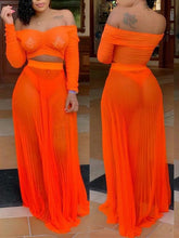 Load image into Gallery viewer, Orange-me Sheer Set