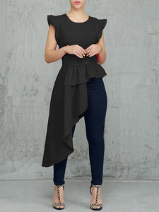 Frilled Asymmetric Top