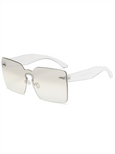 Load image into Gallery viewer, Rimless Square Sunglasses
