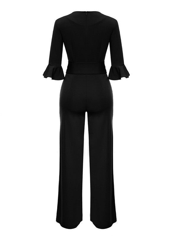 Fallow Trumpet Sleeve Jumpsuit