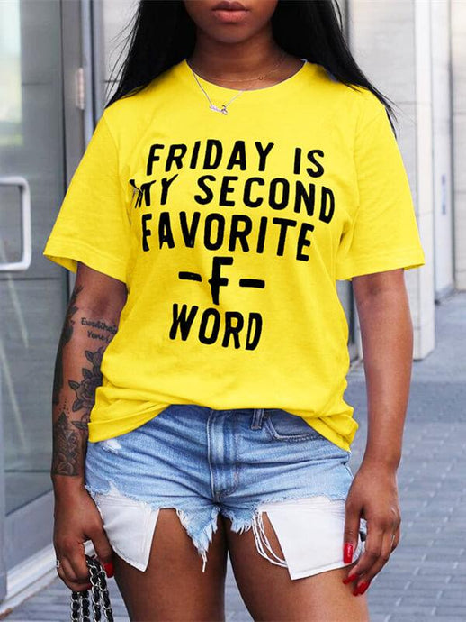 Slogan Short-Sleeve Tee