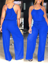 Load image into Gallery viewer, Cami Blouson Jumpsuit