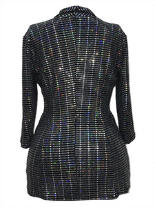 Sequin Slim Jacket