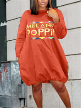 Load image into Gallery viewer, Slogan Slouchy Dress