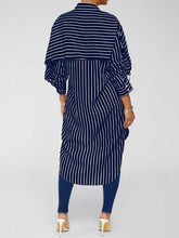 Load image into Gallery viewer, Stripe Tunic Shirt