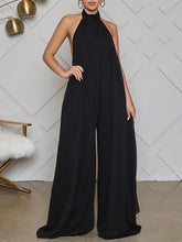 Load image into Gallery viewer, Halter Chiffon Jumpsuit