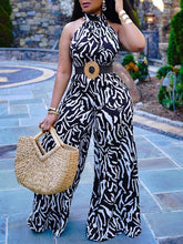 Load image into Gallery viewer, Sleeveless Wide-Leg Jumpsuit